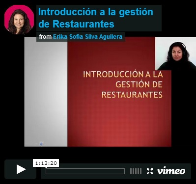 intro gestion de restaurantes
