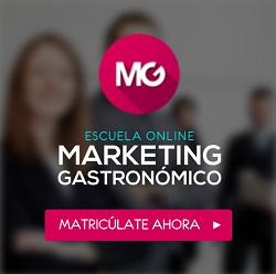 Escuela Hostelería Online Marketing Gastronómico