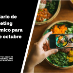 calendario de marketing gastronómico