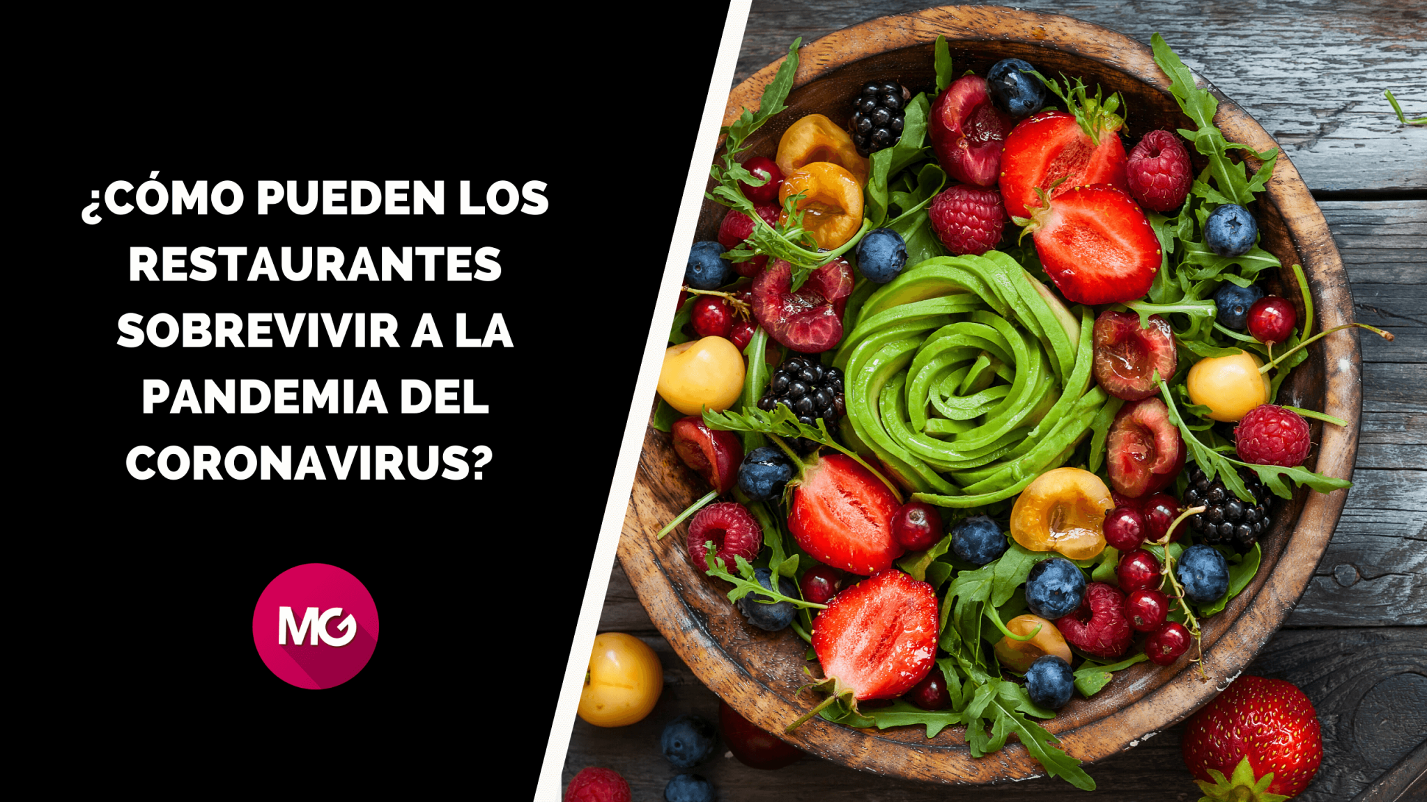¿Cómo pueden los restaurantes sobrevivir a la pandemia del coronavirus