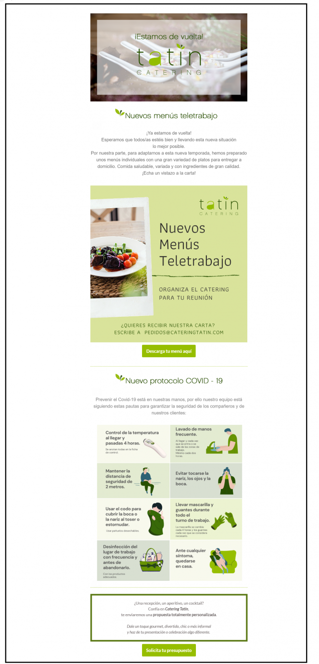 protocolos apertura restaurante covid19 hosteleria erika silva gastronomia marketing gastronomico