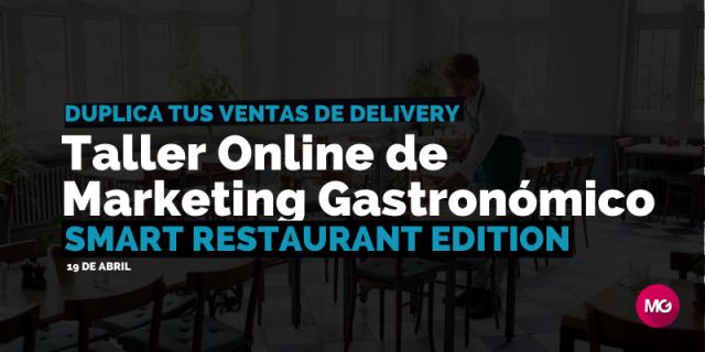 taller online de marketing gastronomico