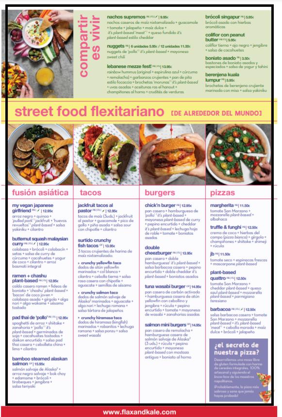 carta de restaurante erika silva marketing gastronomico